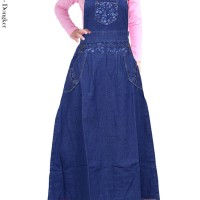 Baju Overall Kodok Anak Jenas Perempuan Bmc1531