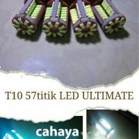 ... harga Cahaya Putih Lampu T10 Led 57 Titik Canbus Super Bright Senja Mundur Tokopedia.com