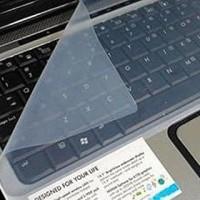 silikon pelindung keyboard laptop tidak kena air ukuran 14inc laptop