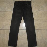 UNIQLO UJ S-001 Black Broken Stretch Slim Jeans