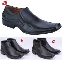 Jual sepatu pantofel kulit resmi/kerja cowok/formal pria 88yy DTF 006 Murah