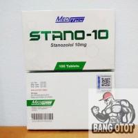 Meditech Stano-10 / Stanozolol 10mg/Tab x 100 Tablets