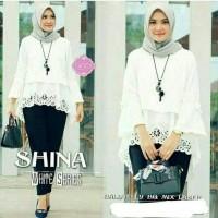 Baju wanita shina white