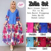 zolla set by Putri fashion hijab