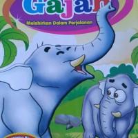 Buku Dongeng Anak Gajah Melahirkan Dalam Perjalanan full Colour