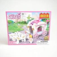 Mainan Lego Girls Cogo Kereta Kencana