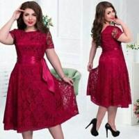 Jual al#melisa jumbo dress*dress brukat*mini dress*simpel dress*casual*sale Murah