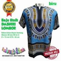Harga baju etnik dashiki motif warna hippies boho batik pria | antitipu.com