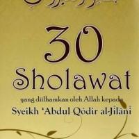 Buku Sholawat Basya'irul Khoirot Syekh Abdul Qodir Al Jailani Ra