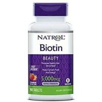 Natrol Biotin Fast Dissolve 5.000 mcg (share) 10 tablets per package