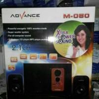 Speaker Aktif Advance M-080 TERMURAH & TERLENGKAP