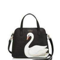 Kate Spade On pointe Swan Small Maise Harmony Hand Bag