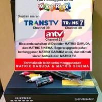Receiver parabola Solusi Antv Trans TV Trans 7