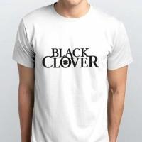 Kaos Polyflex Anime Black Clover Logo