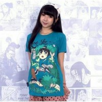 Kaos Tshirt Anime One Piece Rock Lee