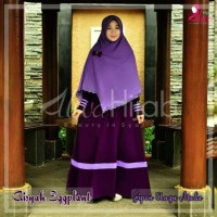 kerudung Segi empat Polos -Jilbab Pon (Jipon) warna ungu muda