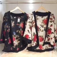 Kimono Cardigan Bunga Zara