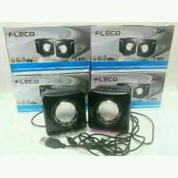 Speaker hp Laptop notebook Fleco F003 - speaker mini ha Stok Ada