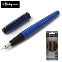 Paket Cashback Platignum Studio Fountain Pen Biru + Tinta Refill