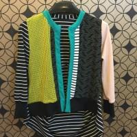 baju atasan motif lucu outerwear outer kimono hijab cantik cardigan