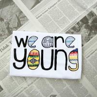 L5791 TUMBLR TEE TShirt KAOS We Are Young KODE PL5791