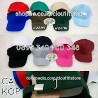 Jual Topi Baseball Premium Polos PENGAIT GESPER / Tumblr Cap Grade Original Murah