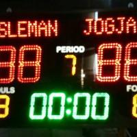 Scoreboard, Papan Skor, Scoring board, Komplit, Futsal, Basket, Bola