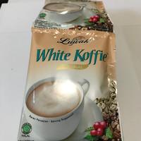 Luwak White Koffie 1 Renceng / 10 Sachet / Pcs / Kopi Coffee