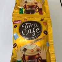 Tora Cafe Caramel 1 Renceng / 10 Sachet / Sashet / Pcs / Toracafe