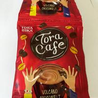 Tora Cafe Volcano Chocomelt 1 Renceng / 10 Sachet / Tocacafe Coklat