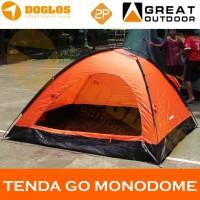 harga Tenda 2 Orang Great Outdoor Gt8187 Monodome 2 Double Orange Tokopedia.com