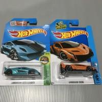 Hot Wheels Paket Lamborghini Sesto Elemento + Veneno