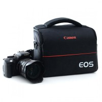 Termurah EOS Tas Selempang Kamera DSLR for Canon Nikon