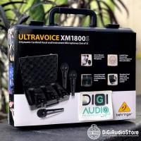 Behringer XM 1800 S Microphone Dynamic isi 3 Mic Kabel Vocal Karaoke