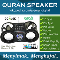 Speaker Al Quran Fleco Remote (Audio AlQuran Digital)