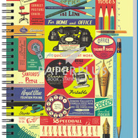 Notebook Double Wire A5 Vintage Home and Office - HC
