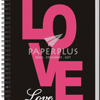 Notebook Double Wire A5 100 Love - HC