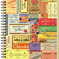 Notebook Double Wire A5 Vintage Chocolate - HC