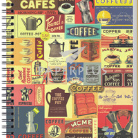 Notebook Double Wire A5 Vintage Cafe - HC