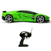 New Mobil Rc 4WD Drift Lamborghini Body metal Skala 1 16