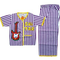 Harga setelan baju tidur piyama anak laki laki lengan pendek bl25 4 | antitipu.com