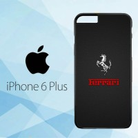 Casing Hardcase HP iPhone 6 Plus Ferrari Logo X4846
