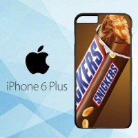 Casing Hardcase HP iPhone 6 Plus Snickers Candy Bar Chocolate X5658