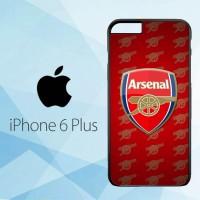 Casing Hardcase HP iPhone 6 Plus Arsenal FC X4183