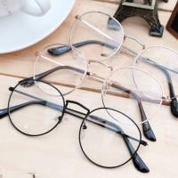 Jual Kacamata Dewasa-Korea-Nobita-Bulat-Oval Murah Keren Murah