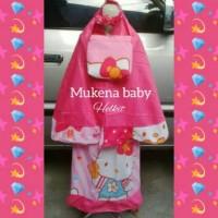 mukena bayi umur 1-2 tahun / mukena hello kitty / mukena anak batita