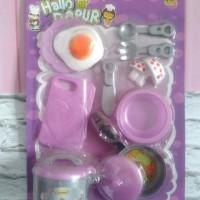 Mainan Hallo Dapur Alat Masak Barbie Murah Lucu