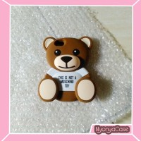 Case 4D TEDDY BEAR IPHONE 5 5S Soft/Silikon/Cover/Rubber/Moschino/3D