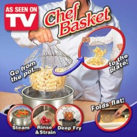 chef basket, kitchen chef, alat pengorengan alat memasak