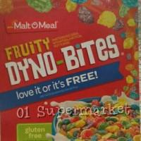 Malt O Meal Fruity Dyno-Bites Gluten Free 354gr
